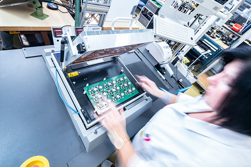 NAP Leistungen EMS Fertigung Test 4